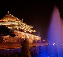 Beijing,  Tiananmen Square by jimmylu