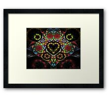 Another Heart on Offer Framed Print