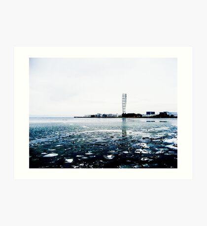 Sweden Water Horizon  Art Print
