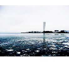 Sweden Water Horizon  Photographic Print