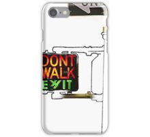 Exit Sign iPhone Case/Skin