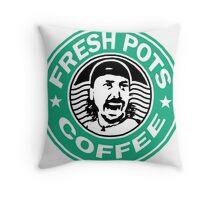 Fresh Pots Throw Pillow