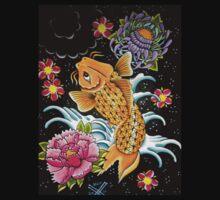 Little Koi Fish by ArtByKevG