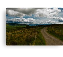 The path of the righteous man... Canvas Print