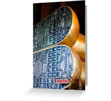Feet Of Buddha Greeting Card