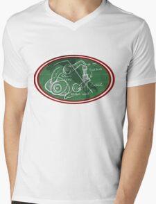 Desmo Valve Illustration Mens V-Neck T-Shirt