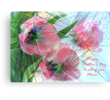Tulips for Mother's Day   Canvas Print