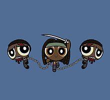 Powerpuff Michonne by BovaArt