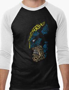 Wolverine Typography  Men's Baseball ¾ T-Shirt