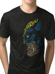 Wolverine Typography  Tri-blend T-Shirt