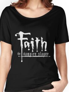 Faith the Vampire Slayer Women's Relaxed Fit T-Shirt