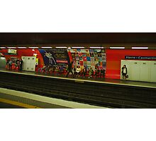 Paris Metro Photographic Print