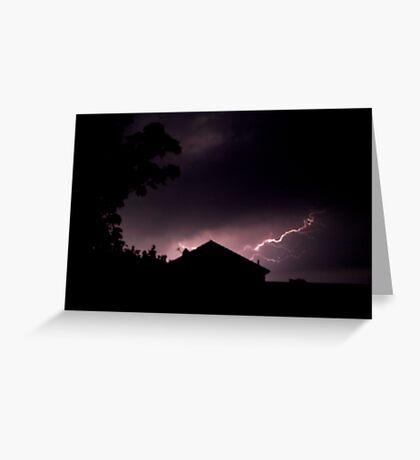 Lightning Strikes... Greeting Card