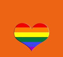 gay heart - gay, love, csd, rainbow, lesbian, pride by fuxart