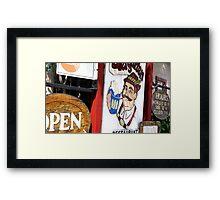 Biergarten Framed Print