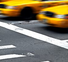 New York Taxis by SOMATUSCANI