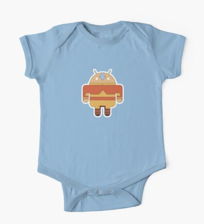 Aangdroid (no text) One Piece - Short Sleeve