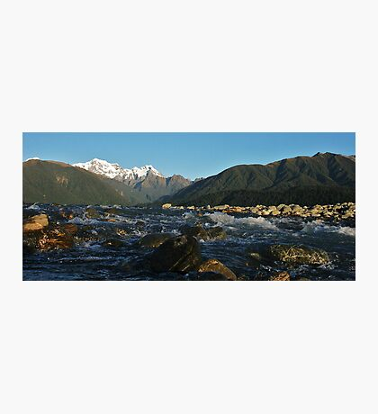 cook river, fox glacier,south westland, nz Photographic Print