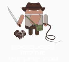 Indiana Jones and the Temple of Droid Kids Tee