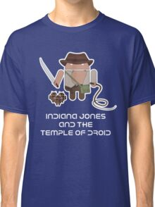 Indiana Jones and the Temple of Droid Classic T-Shirt