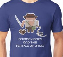 Indiana Jones and the Temple of Droid Unisex T-Shirt