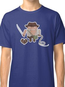Indiana Jones and the Temple of Droid (No Text) Classic T-Shirt