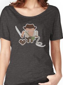 Indiana Jones and the Temple of Droid (No Text) Women's Relaxed Fit T-Shirt