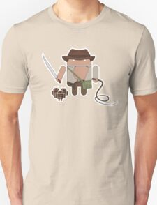 Indiana Jones and the Temple of Droid (No Text) T-Shirt