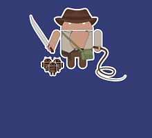 Indiana Jones and the Temple of Droid (No Text) Unisex T-Shirt