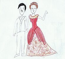 Jane Austen and a French Guy by elephantjuice
