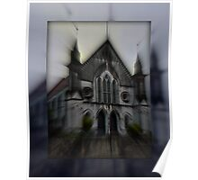 """Gympie's """"Ghostly Church"""" Poster"""