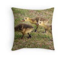 Please Wait Up !! Throw Pillow