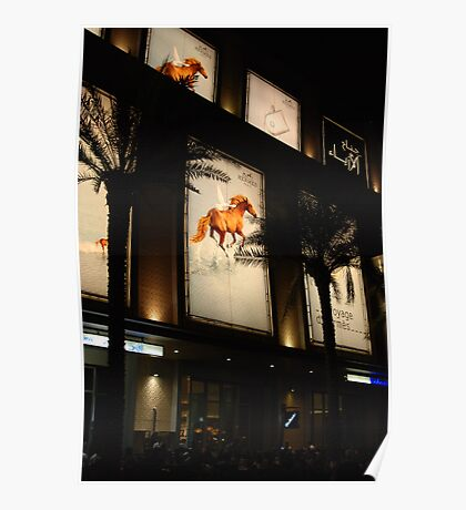 Equine advertising Poster