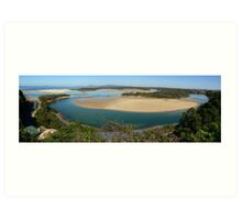 Nambucca Heads panorama Art Print