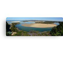Nambucca Heads panorama Canvas Print