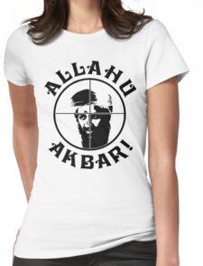 Osama bin Shot! Womens Fitted T-Shirt