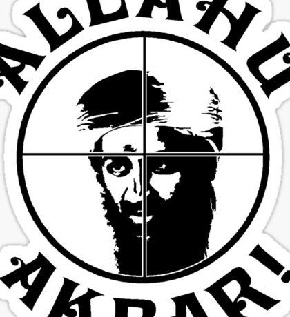 Osama bin Shot! Sticker
