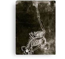 Perseverence of the skeleton danseur * Canvas Print