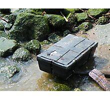 Treasure Chest Washes Ashore Photographic Print
