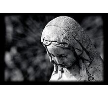 Virgin Mary Statue Photographic Print