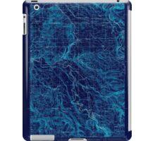 USGS Topo Map Oregon Boring 282269 1914 62500 Inverted iPad Case/Skin