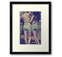 apparel for carefree days Framed Print