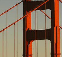 North Tower, Golden Gate Bridge by SolanoPhoto