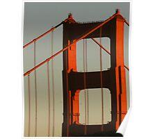 North Tower, Golden Gate Bridge Poster