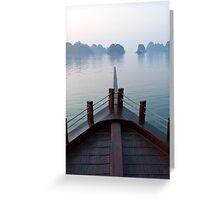 Halong Bay serenity Greeting Card