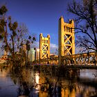 Tower Bridge, Sacramento, CA by SolanoPhoto