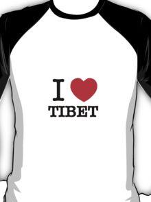 I Love TIBET T-Shirt