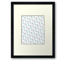 Shark Bros Framed Print