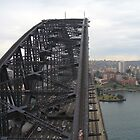 Sydney Harbour Bridge as viewed from SE pylon by DashTravels