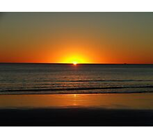 Cable Beach Sunset - Broome Western Australia Photographic Print